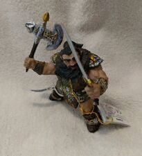 Papo Medieval Fantasy Figure DWARF WITH AXE AND SWORD 38997