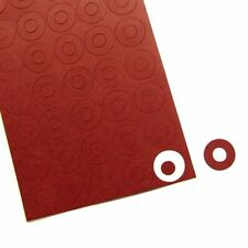 100pcs Battery Insulator Adhesive Paper DIY Electrode Insulation Gaskets Pads
