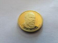 2011 S Proof James Garfield Presidential 1 Dollar San Francisco $1 Coin PR PF