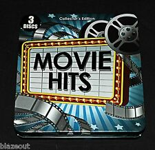 Movie Hits Soundtrack 3 Discs Collector's Edition Tin by The Starlite Singers