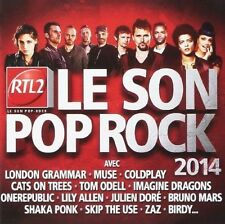 CD de musique pop rock compilation