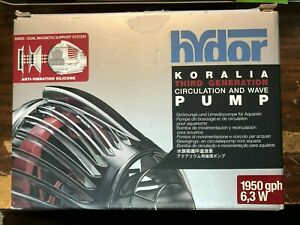 Hydor KORALIA 3rd Gen Circulation & Wave Pump 1950 BRAND NEW