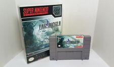 Final Fantasy IV 4 - English SNES Translation NTSC - Gray Cartridge FF