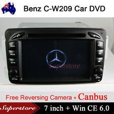 "7"" Car DVD Player GPS  Benz C-CLASS CLK 2000-2004 W209 W203 GPS Radio Head unit"