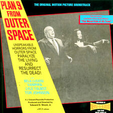 Plan 9 from Outer Space CD Original Movie Soundtrack VAMPIRA Tor Johnson