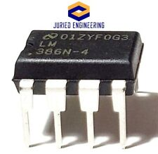1PCS National Semiconductor LM386N-4 LM386 Low Power Audio Amplifier IC