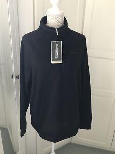 """Craghoppers Men's Norton Half Zip Fleece Navy Marl Size L Insulating 44"""" Chest"""