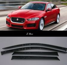 For Jaguar XE Sedan  2015-2019  Side Window Visors Sun Guard Vent Deflectors