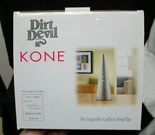 NEW - DIRT DEVIL KONE Rechargeable Cordless Hand Vac Vacuum