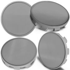 4 x 68mm - 65mm Alloy Wheel Centre Hub Center Rim Caps Compatible with BMW Gray