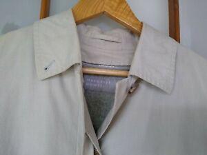 MARGARET HOWELL Houndstooth Soutien Collar Cotton / Wool Coat K-41976 (JP 2)