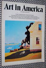 1983 Art In America, OUTSIDER ART, Allan McCollum, Scandinavian Art, Jean Arp