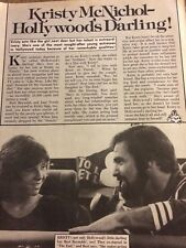 Kristy McNichol, Full Page Vintage Clipping