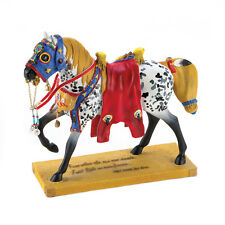 RUNS THE BITTERROOT Trail of Painted Ponies Appaloosa Pony Horse Figurine Statue