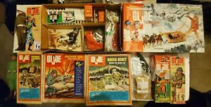 1964 -gijoe vintage collection with lots of hard to find sets or pieces.