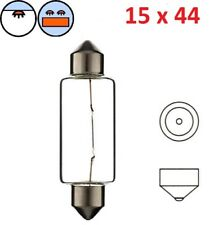 6V 15W SV8.5 15 x 44 MM LAMPADE VESPA PIAGGIO LAMPADINA SILURO POSTERIORE AUTO
