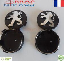 4 Logo Peugeot 60mm Centre De Roue Cache Moyeu Jante emblème jantes M insigne