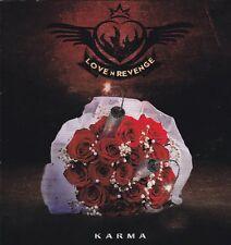 LOVE 'N REVENGE - KARMA (*NEW-CD, 2017, Kivel) Adriangale, Rockarma, Damon Kelly