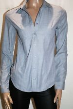 CLOSET Brand Grey Long Sleeve Collared Button Up Shirt Size 8 BNWT #TP103