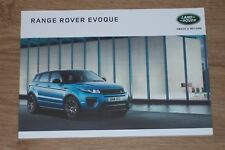 LANDROVER Range Rover Evoque brochure set 2017 (Be)