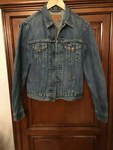 Veste En Jean Levis Vintage FOR GIRLS  Taille M