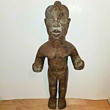 Fine African Tribal Art - Nigeria Yoruba Tribal Figure