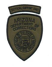 Arizona Dept. Corrections Tactical Support Unit patch - AZ SWAT police sheriff
