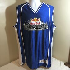 Alleson Red Bull Basketball Style Jersey XL College Challenge Snowboard Comp FS!