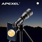APEXEL 60X Mobile Phone Monocular Telescope Lens astronomical zoom lens extendab