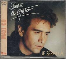 Sébastien El ChatoJe serai là 3-Track Jewel caseMAXI CDVogue  1992 NEUF