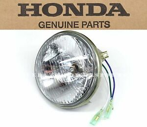 Headlight 6v CT90 CT110 CB125 XL185 CM200 XL500 Genuine Honda (See Notes) #S25