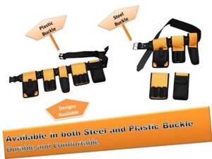 Scaffolding Nylon Tool Belt Padded Double Triple Spanner Frog Tape level Holder