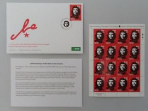 Che Guevara First Day Cover and 16x stamps Full set 1A