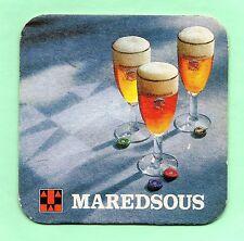 sous-bock MAREDSOUS bierdeckel coaster bierviltje Lot 1046