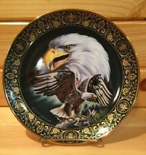 "Royal Doulton 8"" Eagle Collectors Plate ~The Call Of Freedom~Franklin Mint ~"