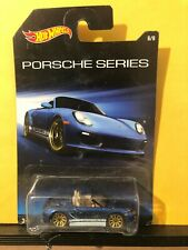 1/64 Hot Wheels Porsche Series Porsche Boxster Spyder Blue