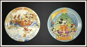 ⭐ Piatti di Natale Disney 1989 / 1991- DISNEYANA.IT ⭐