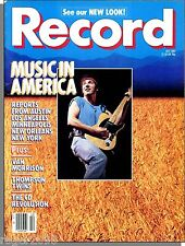 Record - 1985, October - Music in America, Why Buy a CD?, Thompson Twins, X