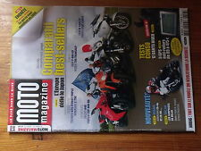 $$a Revue Moto Magazine N°253 Kawa ER-6n  Airbag  Gants hiver  BMW F 800 GS