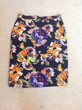 Vintage La Fleur skirt 100% silk size L