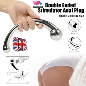 Full Body Massage Pure Stainless Steel Handheld Wand Stimulate Scraping Spot New