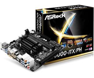 ASRock QC5000-ITX/PH - AMD FT3 Kabini A4-5000 Quad-Core APU