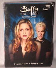 DVD Buffy the Vampire Slayer Season 7 (2009, 6-Disc Full Frame) NEW MINT SEALED