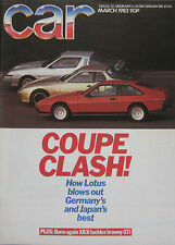 CAR 03/1983 featuring Porsche, Lotus, Colt Starion, BMW Alpina B9, VW Golf GTi