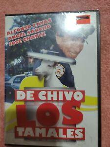 ALFONSO ZAYAS ANGEL SANCHO DE CHIVO LOS TAMALES LATIN MEDIA DVD COMEDIA SELLADO