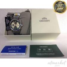 ORIENT NEO70's Horizon Chronograph Solar Quartz Watch Made in Japan New EMS F/S