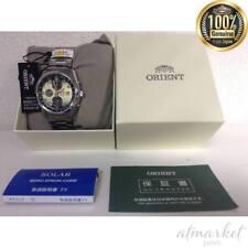ORIENT NEO70's Horizon Chronograph Solar Quartz Watch Made in Japan New EMS F/S