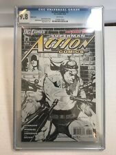 Action Comics #2 CGC 9.8 1:200 Sketch Variant Rags Morales Rare Htf DC Superman