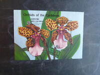 1990 GRENADA ORCHIDS OF THE CARIBBEAN EXPO '90 STAMP MINI SHEET MNH #2