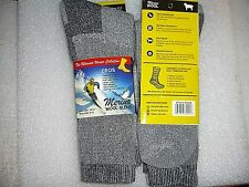 Men's Premium Merino Wool Socks, 2 Pair, size 10-13 CUSHIONED SOFT WARM COMFY